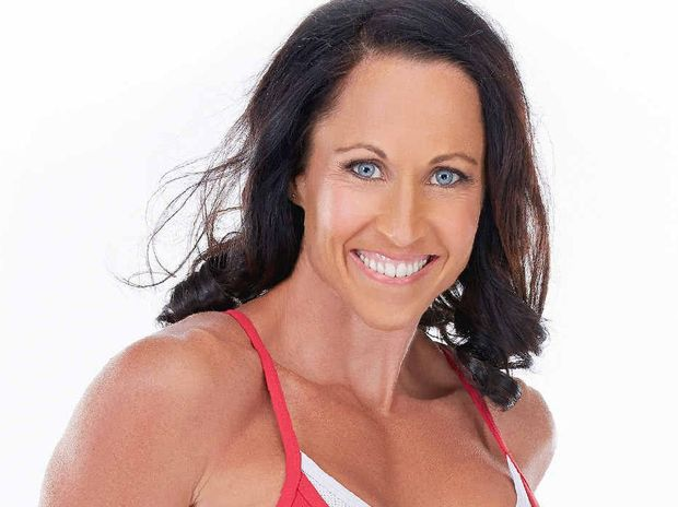 FIGHTING FIT: Former Clunes resident and Personal Trainer of the Year Sally Brouwer has much experience in the health and fitness industry.