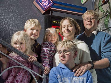 Cherie, Hayden, Erin, James, Melanie and Craig Griessen love Toowoomba Stand's Sensory Screenings.