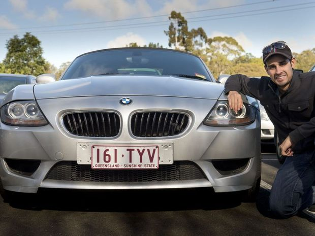 Michael Symes is part of the BMW club of Queensland in Toowoomba.