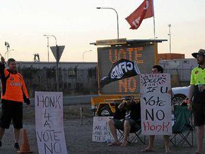 Strike action at Port Curtis