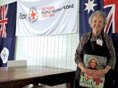 THE Australian Red Cross turned 100 yesterday. By comparison, the longest-serving member of the Mackay branch, Jean Bourke, is young.