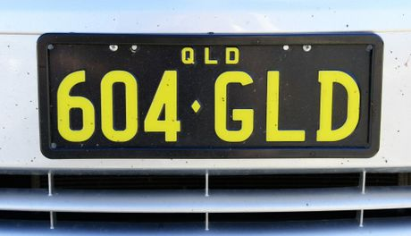 2014 Commonwealth Games 400m Individual Medley bronze medalist Keryn McMaster is back home in Ipswich and back into training. Her personalised number plates show her state of mind. 'Go 4 Gold'. Photo: Rob Williams / The Queensland Times