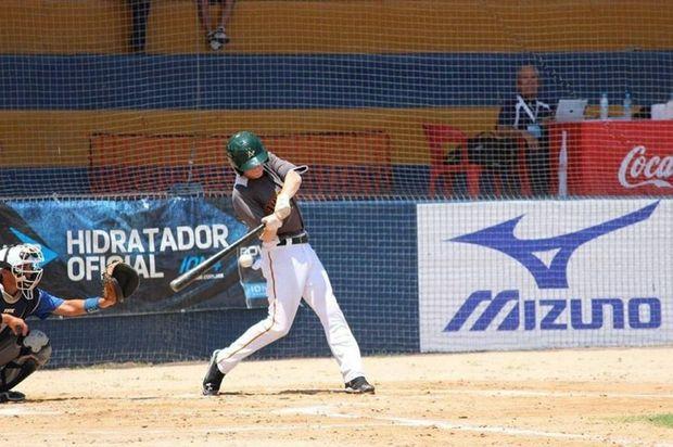 Lismore's Kodey Wilford at bat in the 2014 International Baseball Federation 15U (under-15) Baseball World Cup in Sinaloa, Mexico.