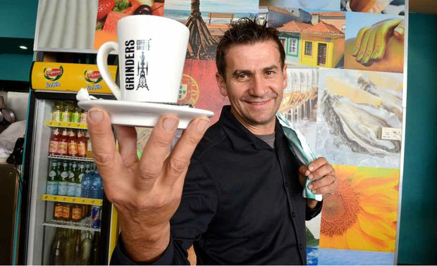 "NO MINIMUMS: Antonio ""Tex"" Teixeira from Karma Waters welcomes all diners to his Mooloolaba Restaurant."