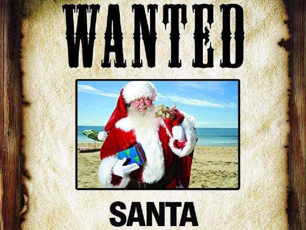 NO PRESENCE: Event photography agency Scene to Believe is struggling to recruit Santas.