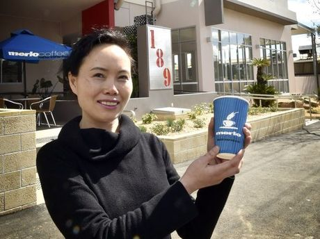 The Coffee House owner Theresa Zhang.