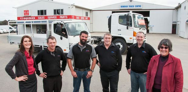 The Bendigo Truck Centre management team. Photo Contributed