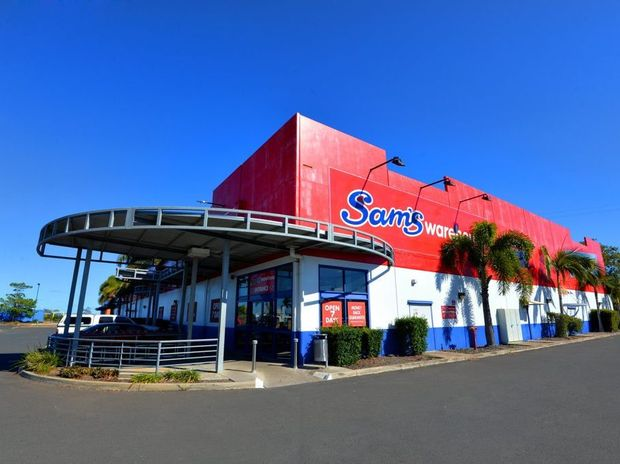 FINAL GOODBYE: Receivers KordaMentha Restructuring have confirmed Bundaberg's Sam's Warehouse will officially trade for the last day on Sunday. Photo: Zach Hogg / NewsMail
