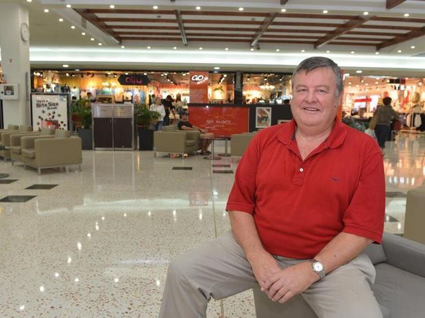 Caneland Central general manager Phil Martin is moving to Perth.