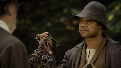 FILM: A still of actor Cuba Gooding Jr. in the film Freedom.
