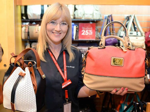 BAG IT: Selina Hosking from Strandbags at City Centre Plaza talks about what handbags are hot at moment.