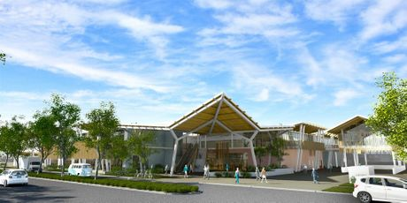 Artist impression of the proposed redevelopment of the cinema and shopping complex on Jonson Street, Byron Bay.
