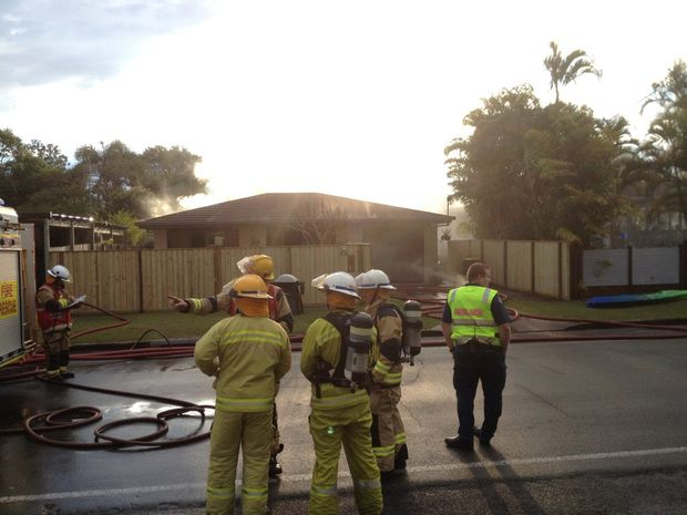 Firefighters have extinguished a blaze at Golden Beach.