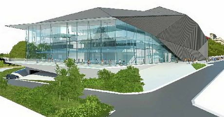 WORLD CLASS: An artist impression of the proposed Ipswich Performing Arts Centre.