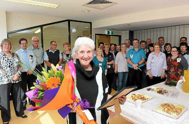 Norma Matterson is retiring from her role on the switch at the Lismore Base Hospital after fifty years in the job.