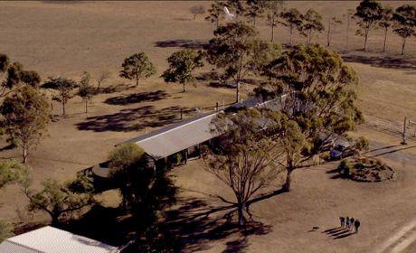 A Google drone drops off a parcel to a Loch Lomond property.