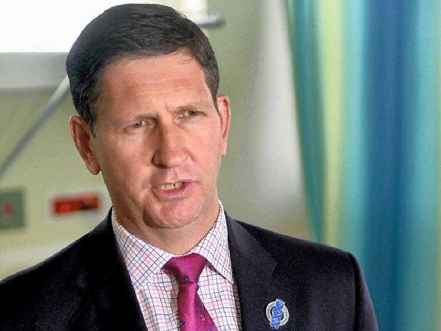 Health Minister Lawrence Springborg