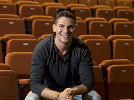 Former Downlands College student Ben Gillespie is excited to perform in The Aussie Boys show in the new Heritage Bank Auditorium at the Empire Theatre.