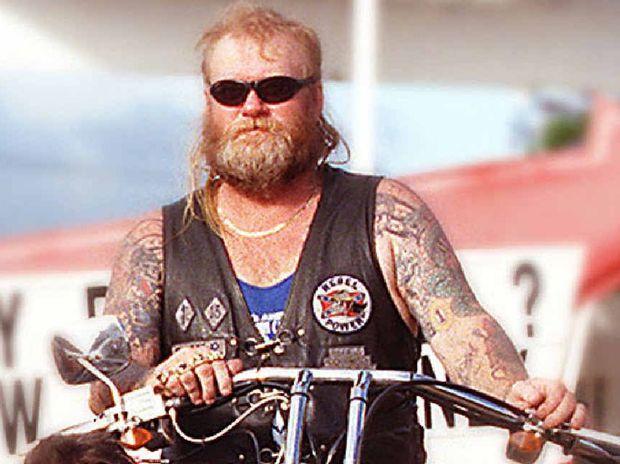 REBEL WITH A CAUSE: Senior Rockhampton Rebels bikie member Brendan O'Brien in a Morning Bulletin file photo.