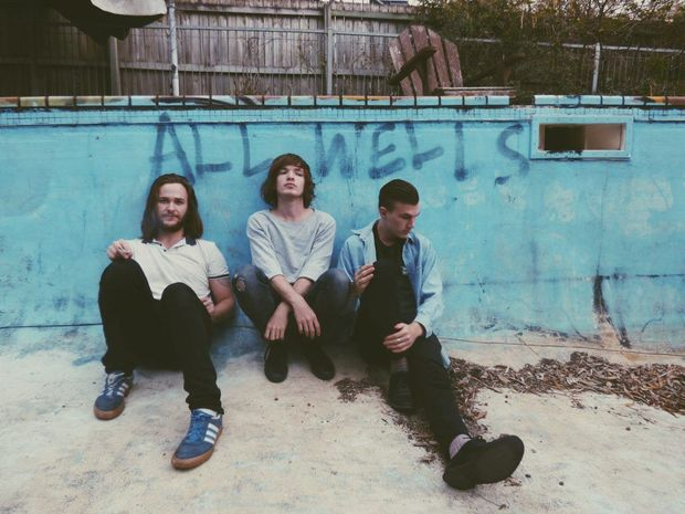 SOUND CHECK: Bundaberg musicians Ryan King, Ethan Greaves and Stuart McKenzie are following their musical dream in Brisbane as the band Jouk Mistrow. Photo: contributed