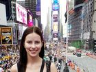 VIDEO: Sarah proves to be big hit in the Big Apple