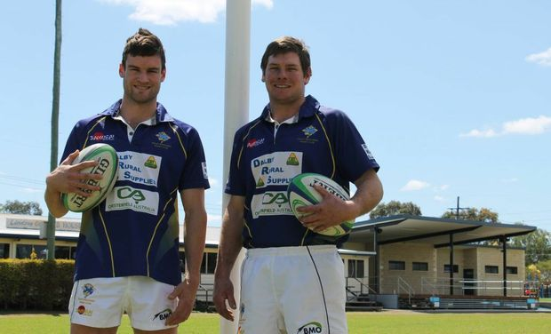 Dalby Wheatmen A-grade captains Paul Maguire and Craig McVeigh are hoping to bring the Risdon Cup home in today's final.