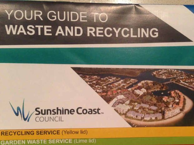 WHOOPS: The Sunshine Coast guide with Noosa on the cover.
