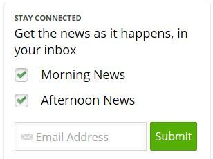Readers can sign up for morning and afternoon newsletters and breaking news alerts to be emailed directly to them.
