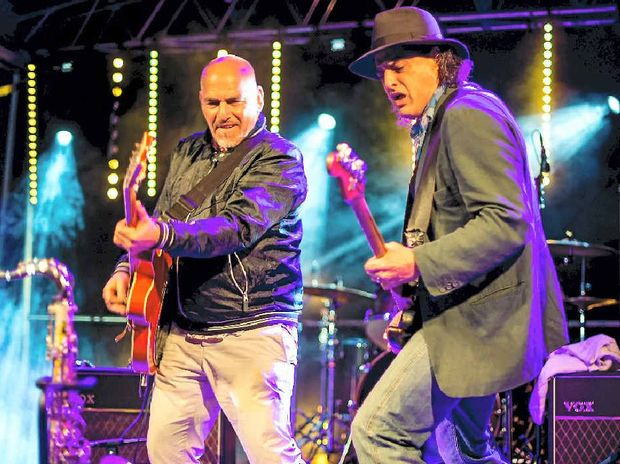 Joe Camilleri and Claude Carranza from The Black Sorrows  are heading to Hervey Bay for a concert.