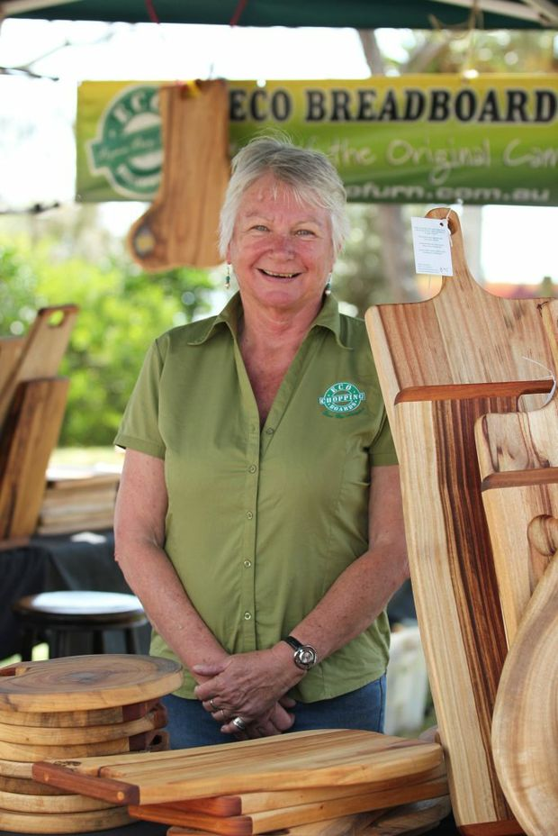 CHOP CHOP: Vicki Evans from Eco Chopping Boards