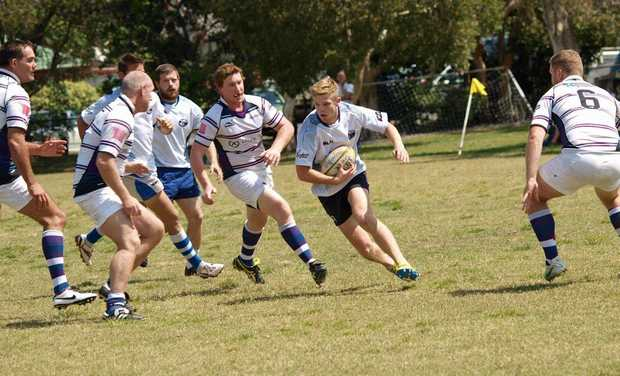 ACTION: It will be rugby heaven again later this month with the Byron 7s comp coming to town.