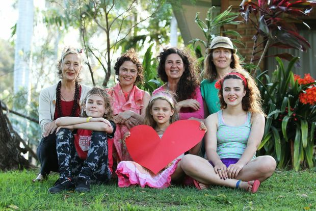 SUPPORT: Mullumbimby Loves Refugees supporters.