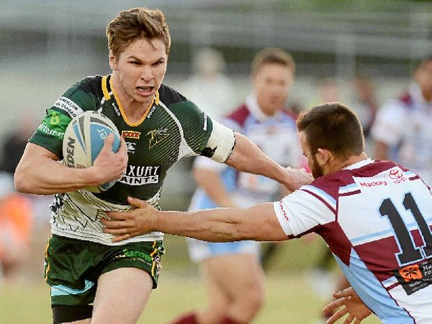 PERFECT TIMING: Ipswich Jets hooker Matt Parcell is in the running to play in the NRL for the Broncos next season.