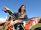 THREE years ago, Taylah Haidley needed training wheels to ride her push bike – last week she became the second-best under-16 female motocross rider in Aus.