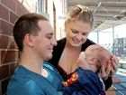 Miracle baby Kurt beats the odds to make it home