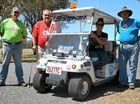 700km buggy trek for charity