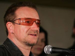 Why does Bono always wear sunglasses? He tells why