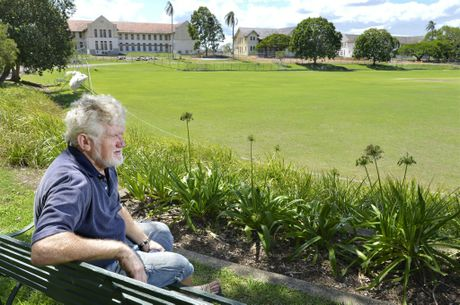 TRIBUTE SOUGHT: Keiron Butler looks over the Wolston Park Centenary Cricket Club grounds.