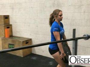Emma Zawila wins national weightlifting title
