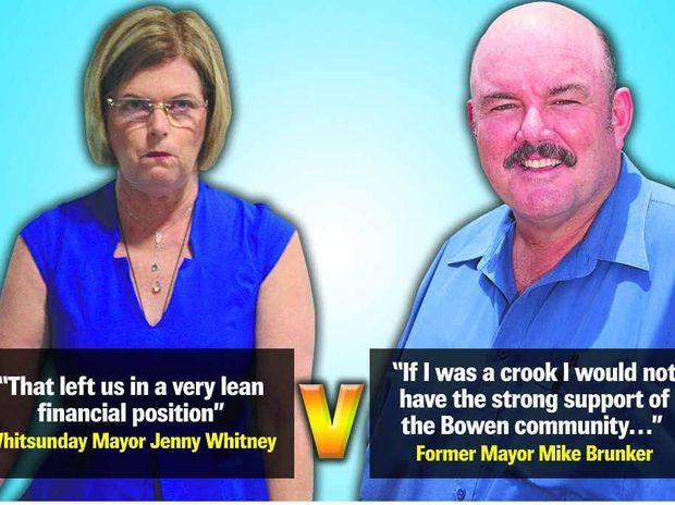 Jennifer Whitney and Mike Brunker.