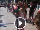 WATCH: Brisbane flash mob marriage proposal