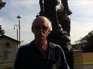 Light horseman statue vandalised