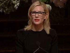 Blanchett, Noel Pearson pay tribute to heroic Whitlam