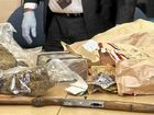 Drugs linked to cold case as large sum of money found