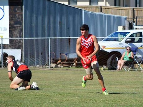 Student and AFL player Blake Bailey died in a car accident on 12.11.14 on Stotts Road.