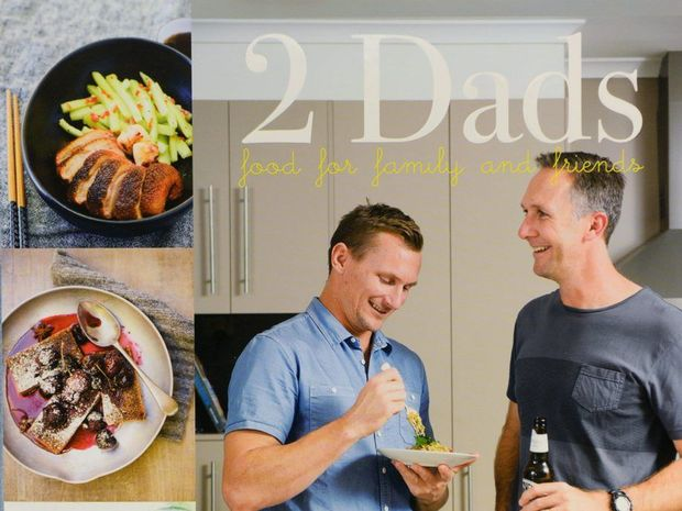 2 DADS: Food for Family and Friends. Photo: contributed