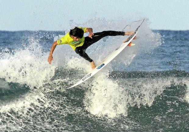 Jeames Young will be riding for Angourie today. PHOTO: ETHAN SMITH/SURFING NSW