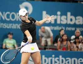 Ash Barty welcomed back to tennis playing ranks