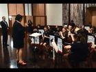 The Alstonville Primary School band performs at Parliament House, Canberra.