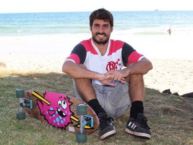 STUDENT: Byron Bay English Language School student Eduardo Diuana Neto from Brazil